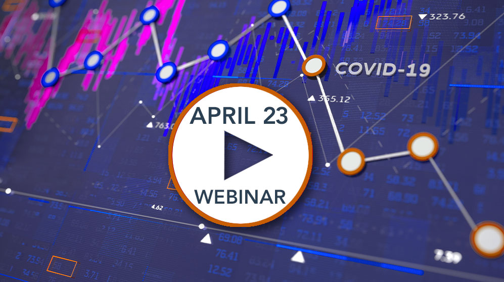 chart of the markets for the april 23 webinar