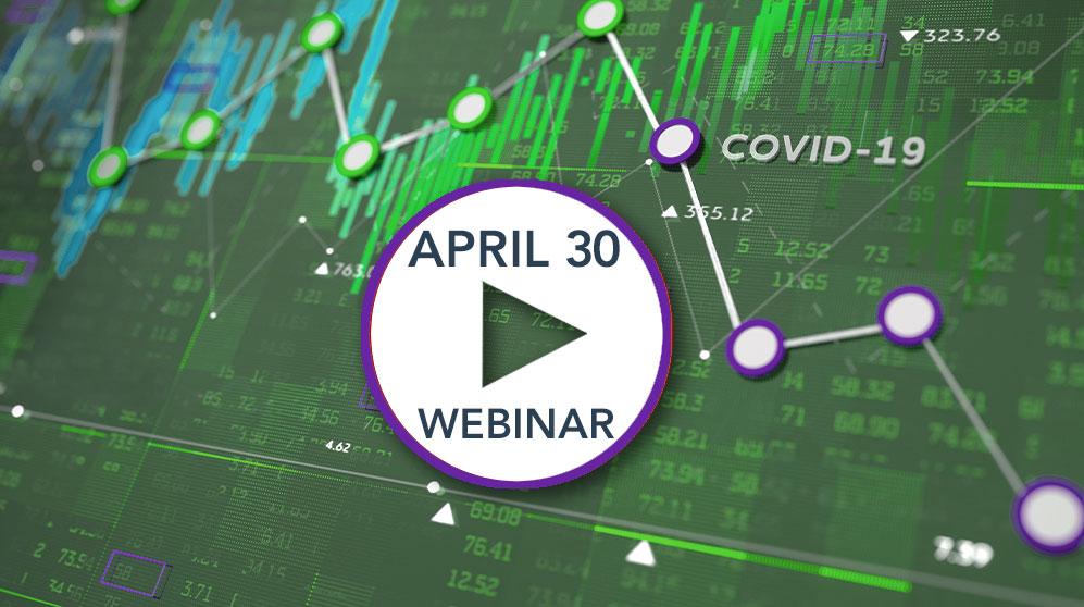 market performance chart for April 30 AMG webinar