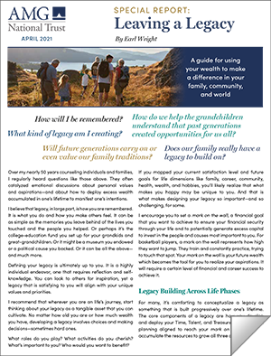 Legacy Planning Report: link to download